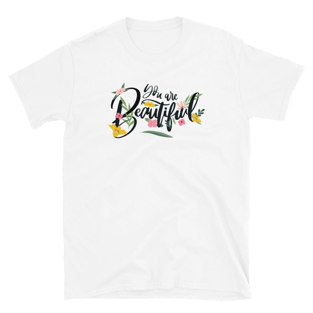 You Are Beautiful Societal Short-Sleeve Unisex T-Shirt White / S Political Clothing