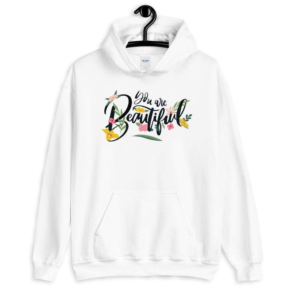 You Are Beautiful Hoodie Political-Activist-Socialist-Fashion -Art-And-Design