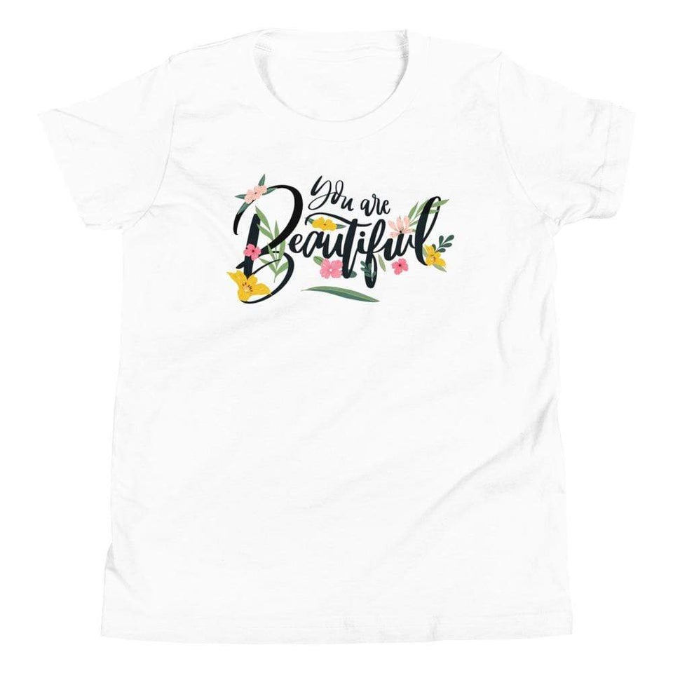You Are Beautiful T-Shirt White / S Political-Activist-Socialist-Fashion -Art-And-Design