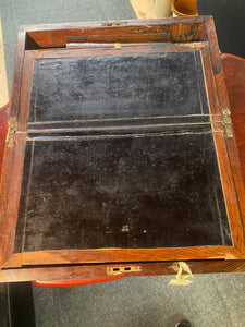 Late 1800s Rosewood? Fold out writing desk