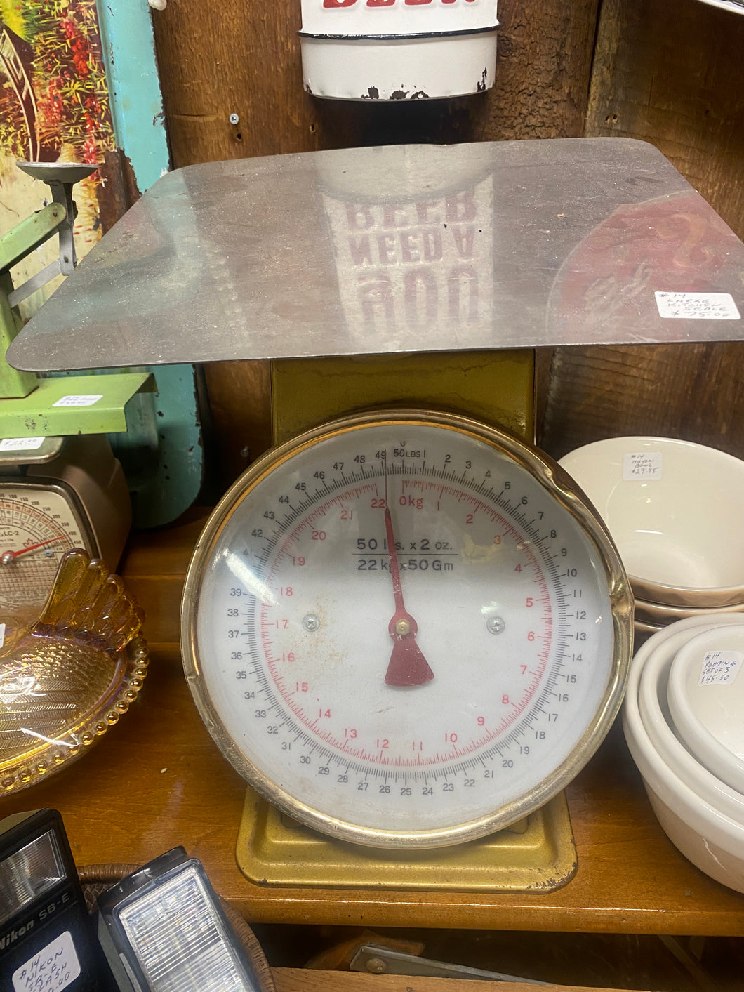 Large kitchen scale