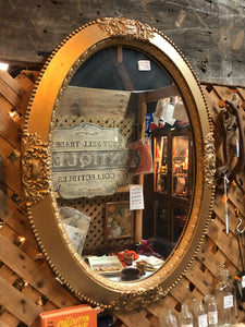 Antique mirror gold