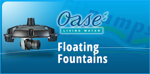 OASE Floating Fountains