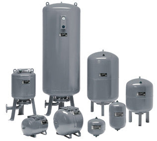 Grundfos Horizontal Expansion Tanks 10 Bar Rated, 24LTR to 80LTR