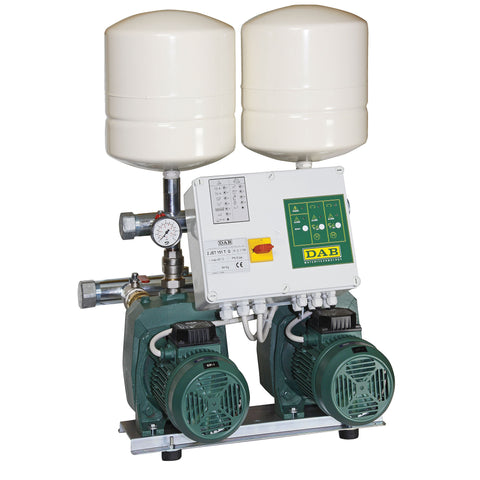DAB 2 JET Sets with Two Self Priming Pumps