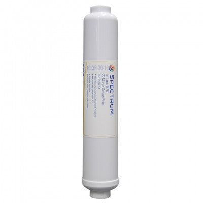 Spectrum Inline 870 Granular Carbon Filters