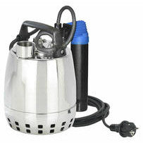 Calpeda GXR Stainless Steel Submersible Drainage Pumps - Automatic Pumps with Magnetic Float Switch, Plug & 10m Cable with Single Phase Motor