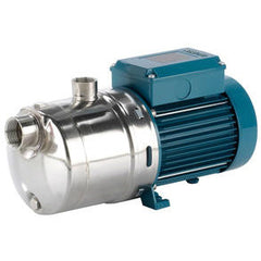 Calpeda Series MXH/MXH-F Horizontal Multi-Stage Close Coupled Stainless Steel Pumps with Three Phase Motor Threaded Connections