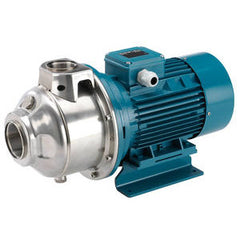 Calpeda Series MXHL Horizontal Multi-Stage Close Coupled 316 Stainless Steel Pumps with Three Phase Motor
