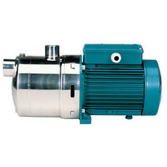 Calpeda Series MXH/MXH-F Horizontal Multi-Stage Close Coupled Stainless Steel Pumps with Three Phase Motor Flanged Connections