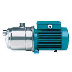 Calpeda Series MXP Horizontal Multi-Stage Close Coupled Pumps with Single Phase Motor
