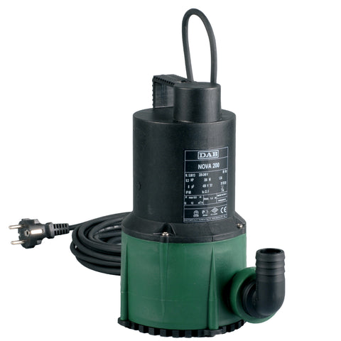 DAB NOVA Submersible Pumps for Drainage Water