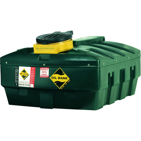 Harlequin 1200 Litre Waste Oil Tank