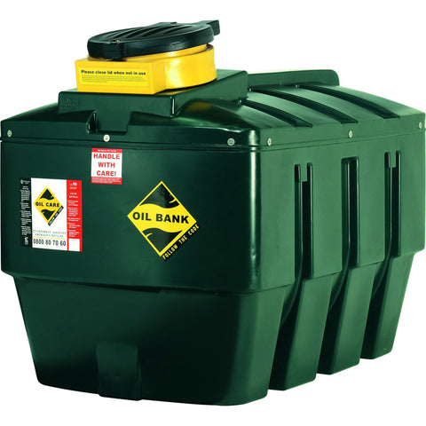Harlequin 1400 Litre Waste Oil Tank