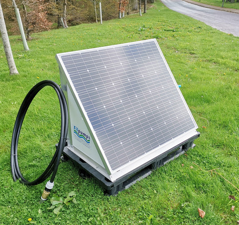 On demand Solar / Battery Pump System for single or multiple water troughs