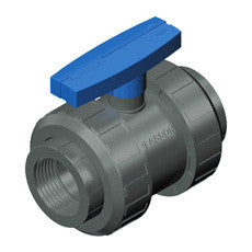 Plasson Ball Valve Threaded (PVC)