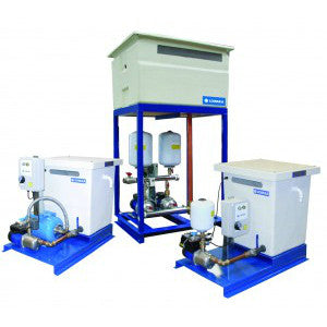 Lowara Break Tank Booster Sets (Base Mounted) with Variable Speed Pumps Series Varitank - P.O.A.