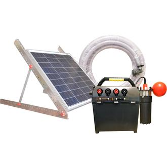 Battery / Solar Powered Pump Kit 60 watt,  with or without Battery
