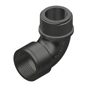 Plasson Male/Female Threaded Elbow