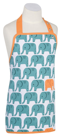 Kids Apron, Elephants