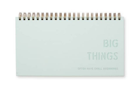 Planner, Weekly Big Things