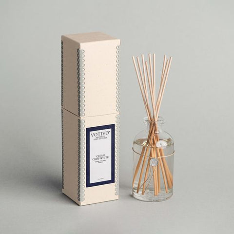 Reed Diffuser, Clean Crisp White