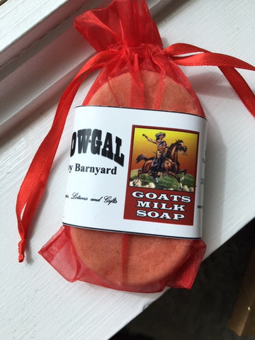 Cow Gal Oatmeal Lavender Soap