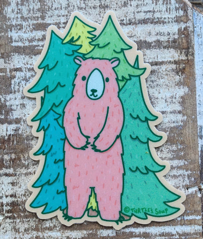 Forest Bear Sticker