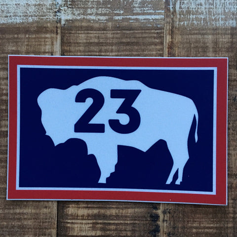 WYO 23 Sticker