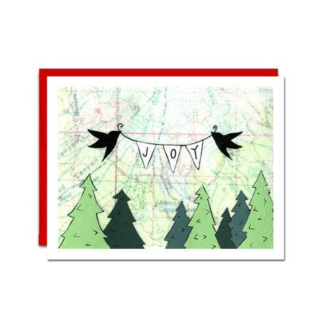 Card Set of 6, Joy Birds Holiday