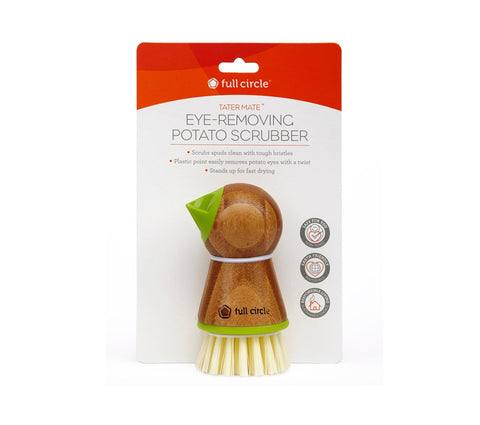 Tater Mate Potato Brush, Green