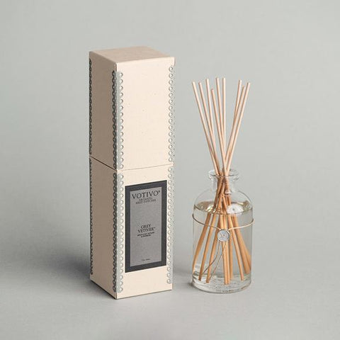 Reed Diffuser, Grey Vetiver