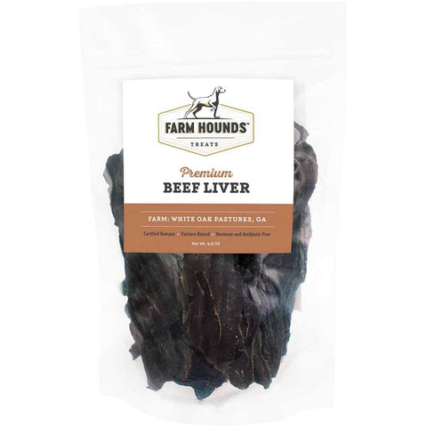 Farm Hounds Beef Liver Dog Treats, 4.5 oz