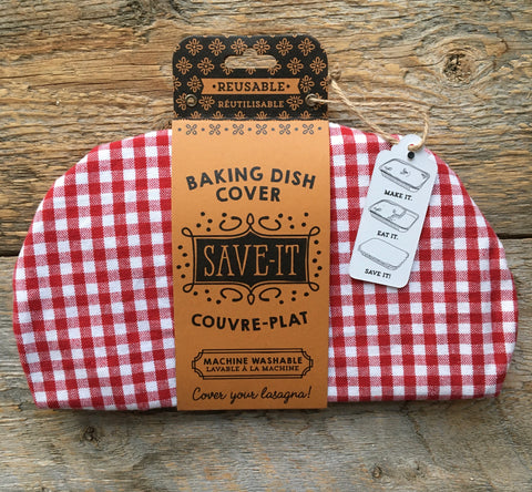 Baking Dish Cover, Gingham