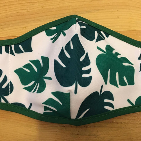 Monstera Face Mask, Adult