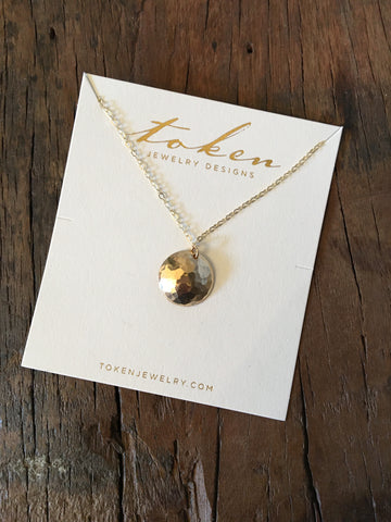 Necklace, Cove Gold 14K fill