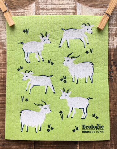 Swedish Dishcloth, Goats Do Roam