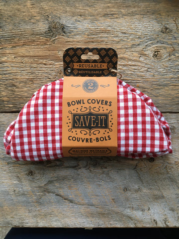 Bowl Covers Set, Gingham