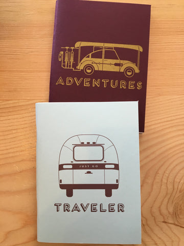 Adventure Notebook, Set of 2