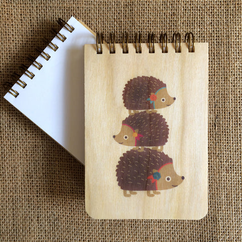 Mini Notepad, Hedgehogs