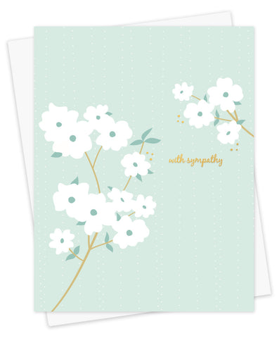 Card, Dogwood Green Sympathy