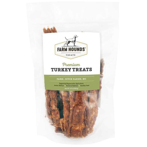 Farm Hounds Turkey Treats 4.5oz