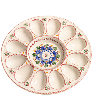 Deviled Egg Ceramic Serving Tray