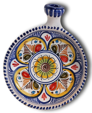 Tapas Dish- Clay Dish With Handle 6.5 inches