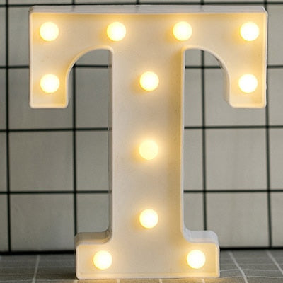 Image of 3D LED-Letter Light