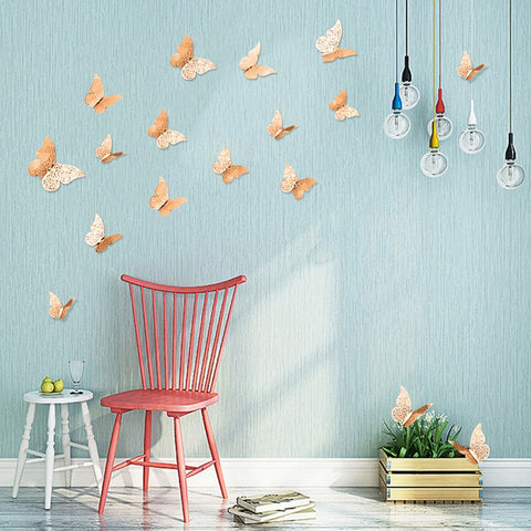 Image of 3D Butterfly Wall
