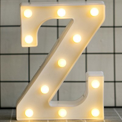 3D LED-Letter Light