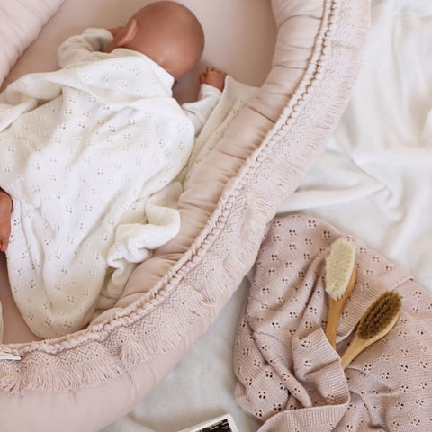 Babynestje | Boho Powder Pink | Cotton & Sweets