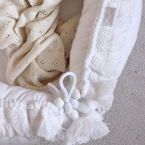 Babynestje | Boho White | Cotton & Sweets