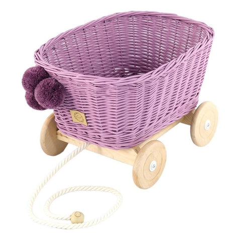 Rieten Trekwagen | Heather | Lilu